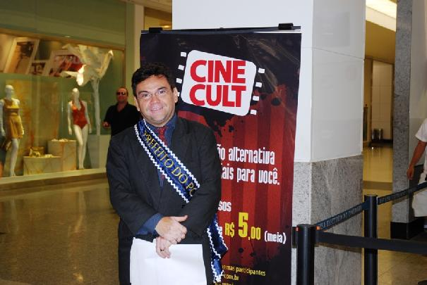 Prefeito do Povo no Cine Mark